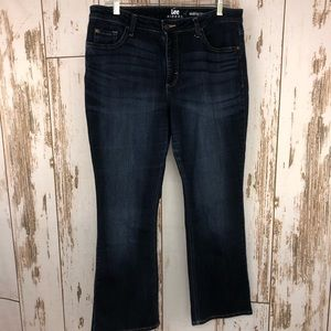 Lee Riders Midrise Boot Cut Jeans, Size 14P